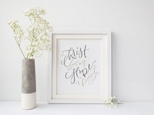 In Christ Alone Art Print
