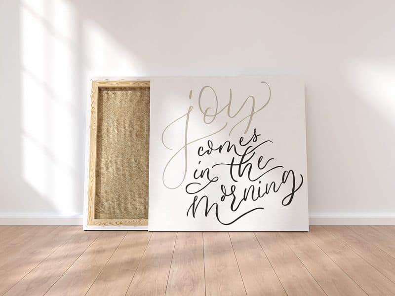 Joy Comes in the Morning Canvas