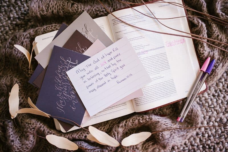 Scripture Memory Card Set