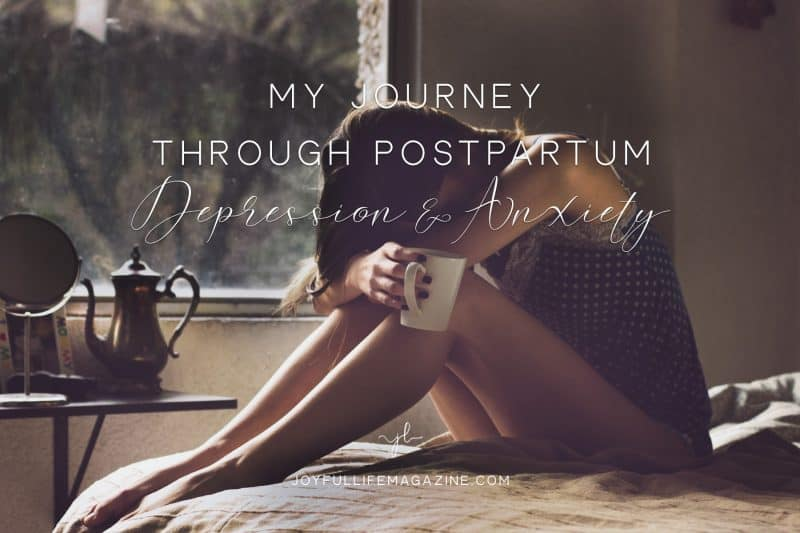 My Journey Through Postpartum Depression and Anxiety | by Ashley Bartley | The Joyful Life Magazine