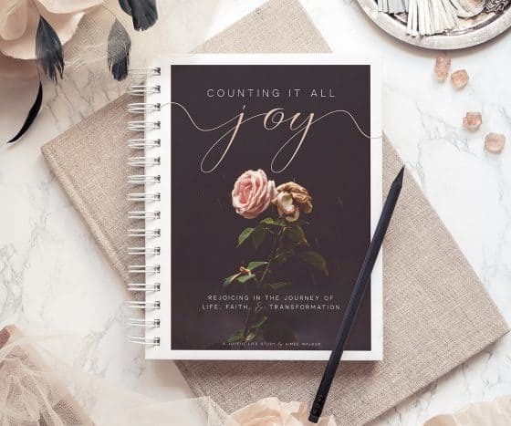 Counting it All Joy Bible Study Guide   by Aimee Walker   The Joyful Life
