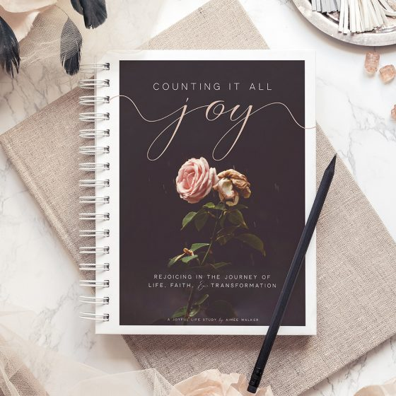 Counting it All Joy Bible Study Guide | by Aimee Walker | The Joyful Life