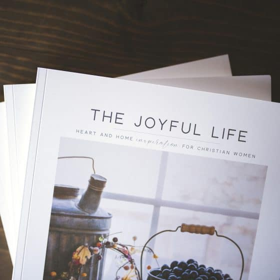 Joyful Life Magazine | ABIDE | Fall 2018