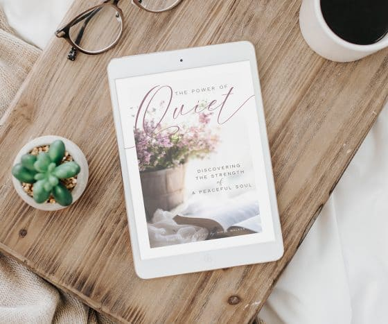 The Power of Quiet Bible Study Guide | by Aimee Walker | The Joyful Life