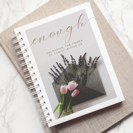 Enough Print Study Guide | The Joyful Life