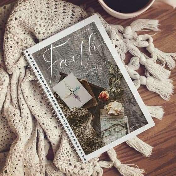 Footsteps of Faith Print Study Guide | The Joyful Life