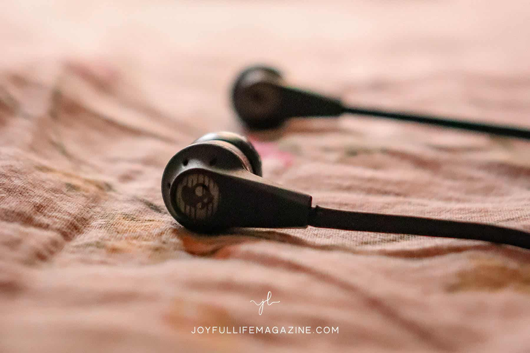 a pair of headphones | Does secular music have a place in Christian homes?