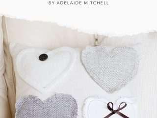 Valentine's Day DIY Heart Pillow