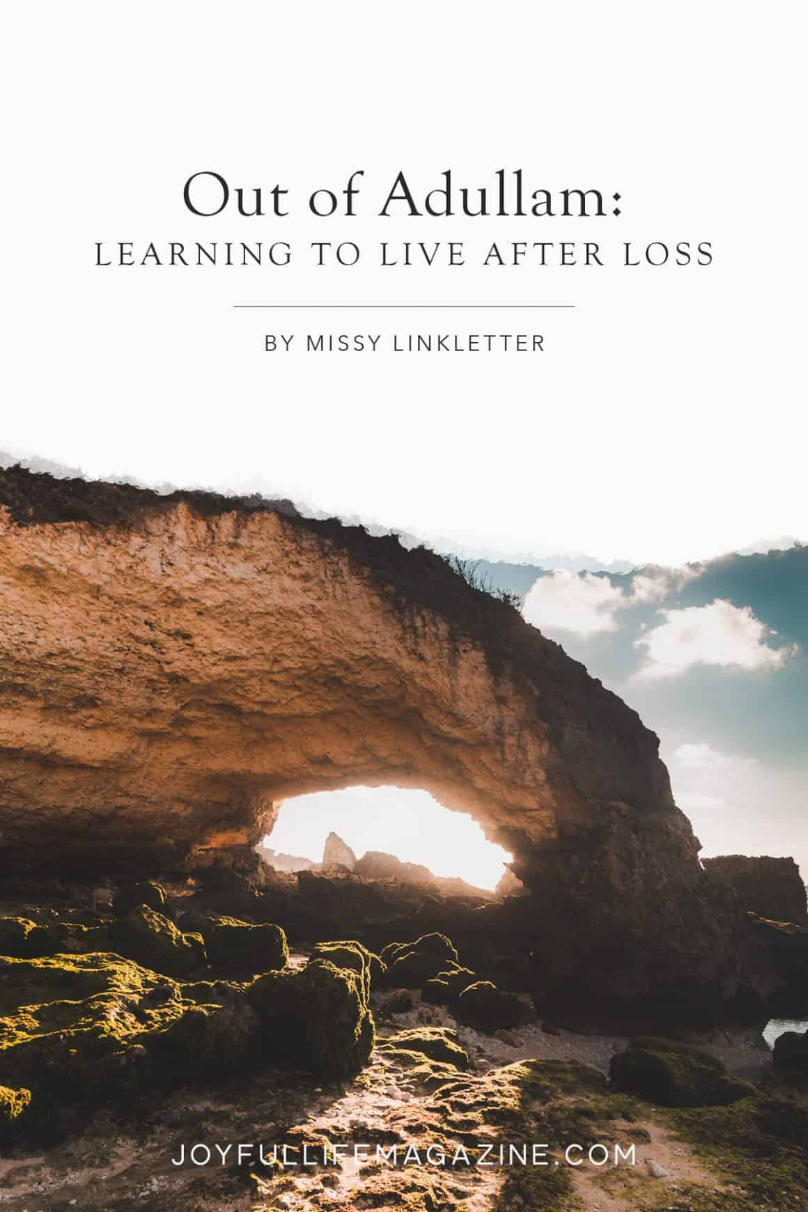 Life after Loss: Emerging from the cave of grief