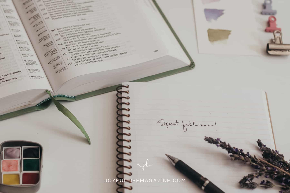 journaling prayers with bible