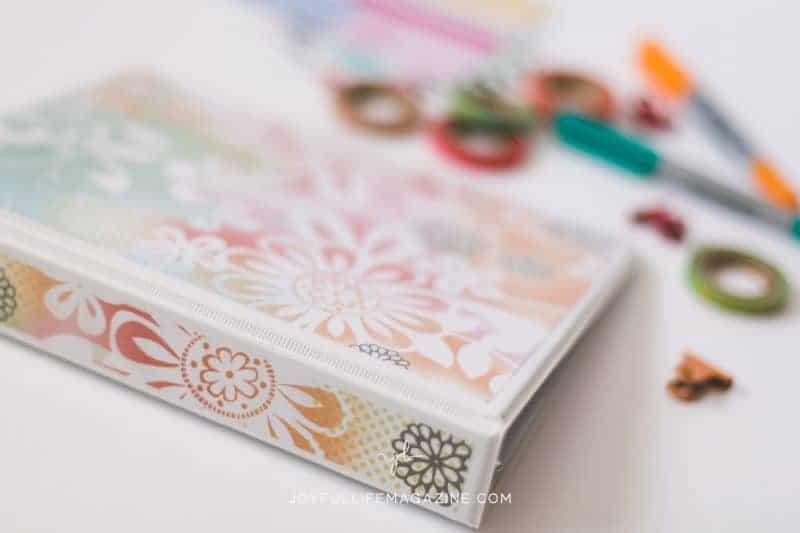 DIY prayer journaling notebook