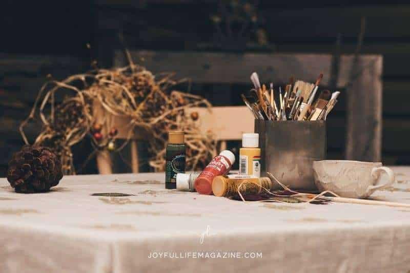 fall craft supplies